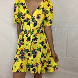 Funky Floral Dress